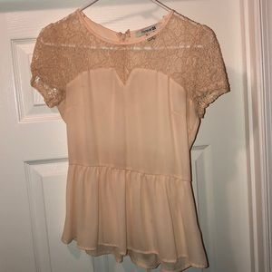Forever 21 Pale Pink top size small